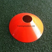 Set afbakenschijven laag oranje 30 cm